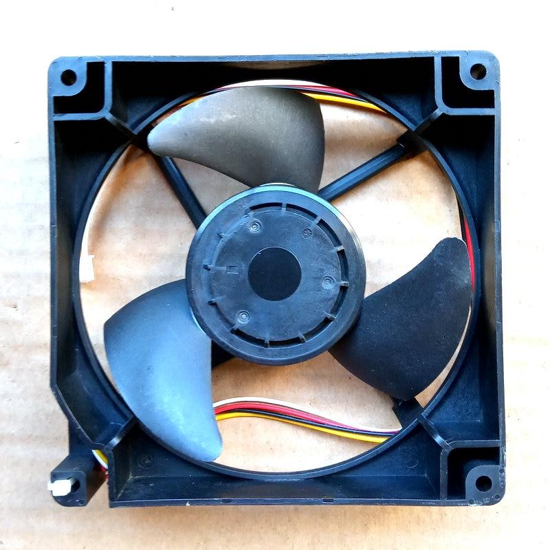 Nidec U12E12BS8B3-57 J231 DC12V 0.07A 12cm for refrigerator cooling fan