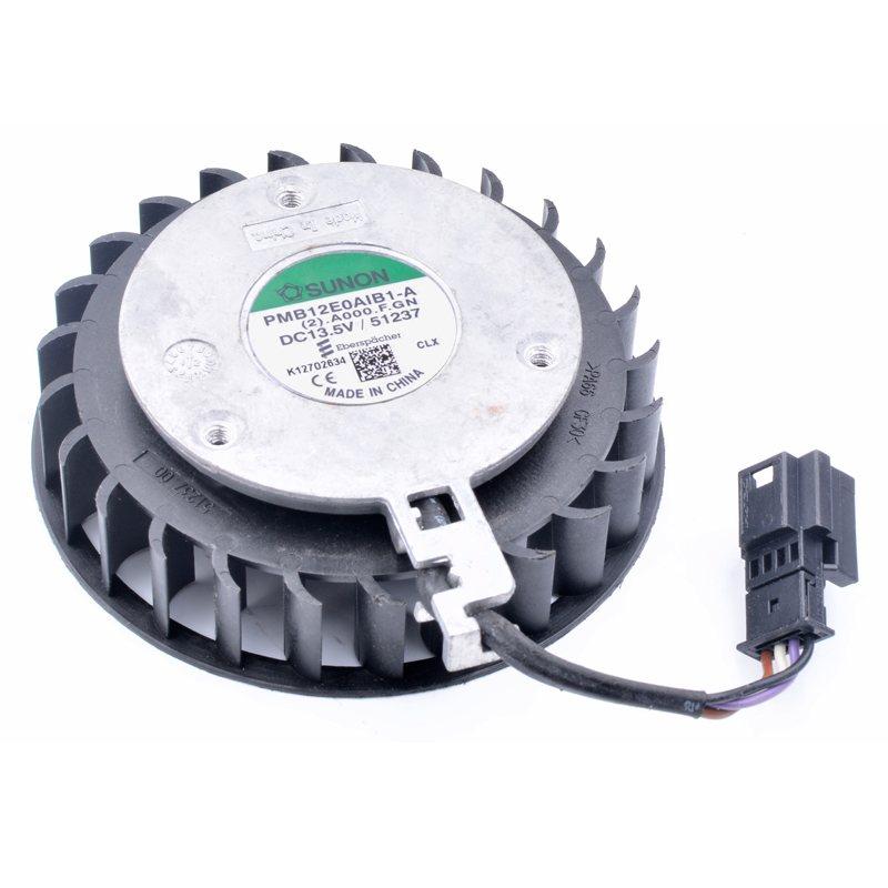 SUNON PMB12E0AIB1-A 13.5V Turbo cooling fan for car seat ventilation system