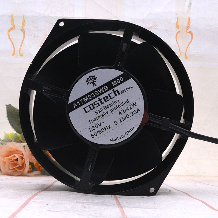 COSTECH A17M23SWB M00 230V 42W 0.25A Ball Bearing cooling fan