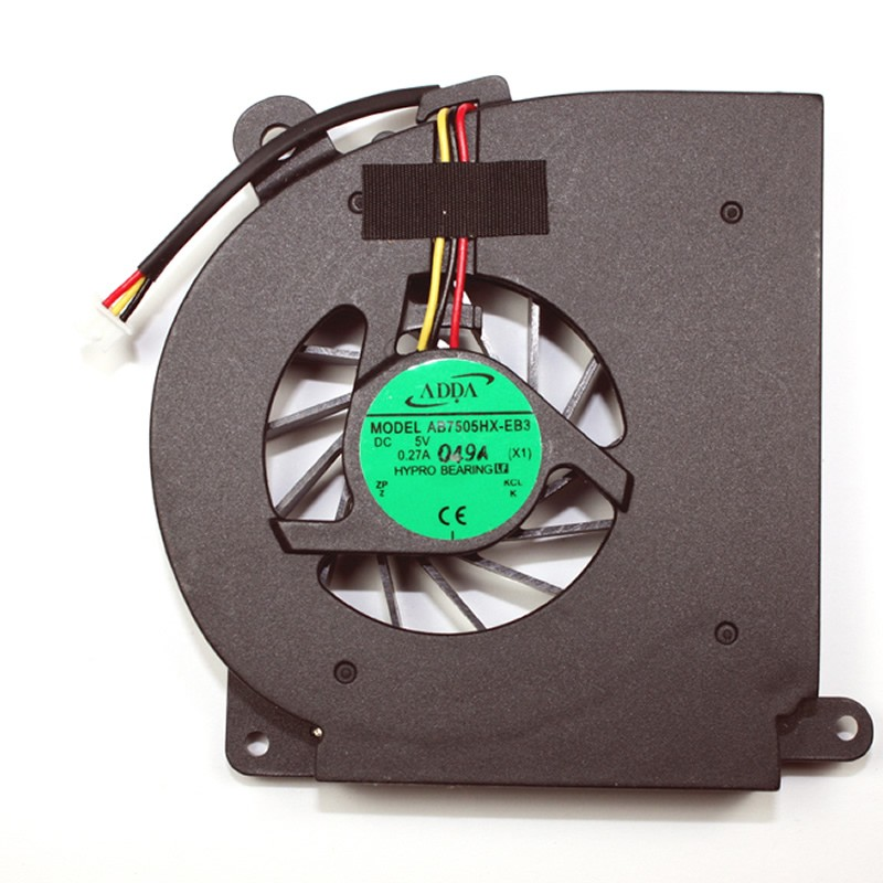 ADDA AB7505HX-EB3 DC5V 0.27A hypro bearing for Acer Aspire cooling fan