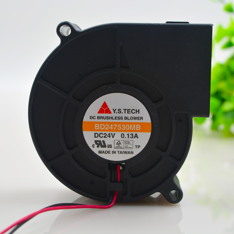 Y.S.TECH BD247530MB DC24V 0.13A cooling fan