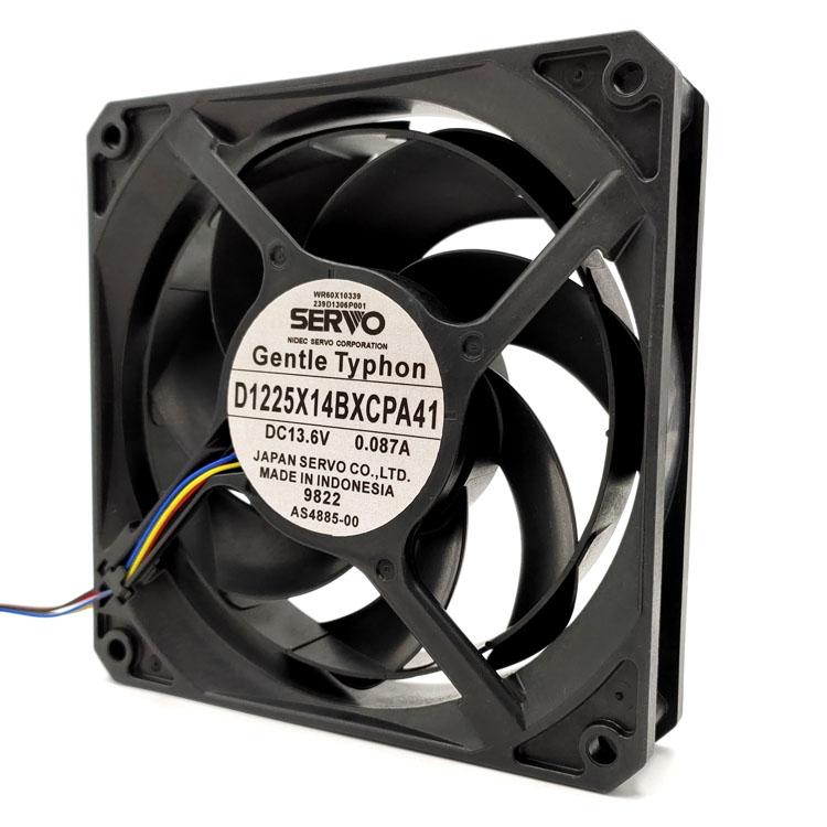 SERVO D1225X14BXCPA41 13.6V 0.087A 12CM 4-wire cooling fan