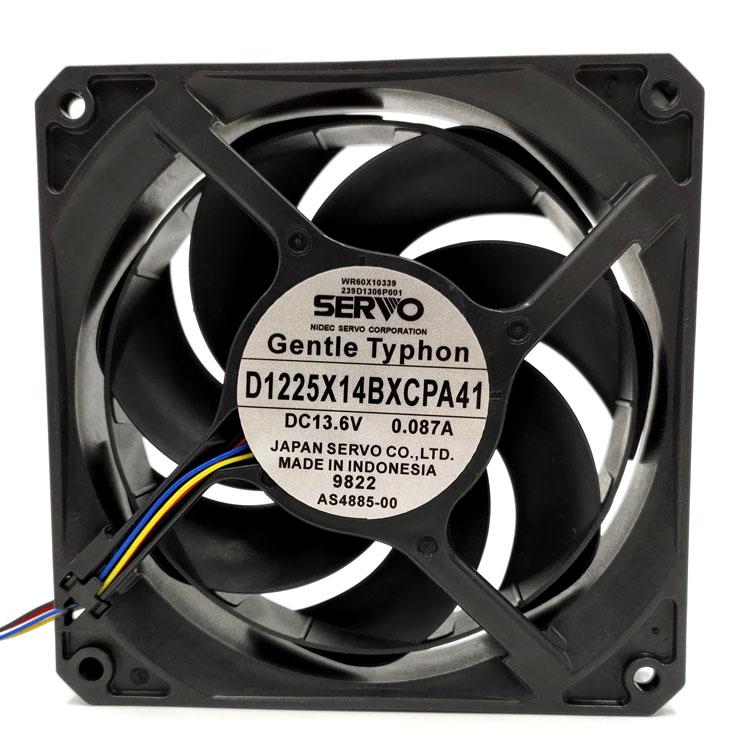 SERVO D1225X14BXCPA41 DC13.6V 0.087A 12CM Ultra-quiet cooling fan