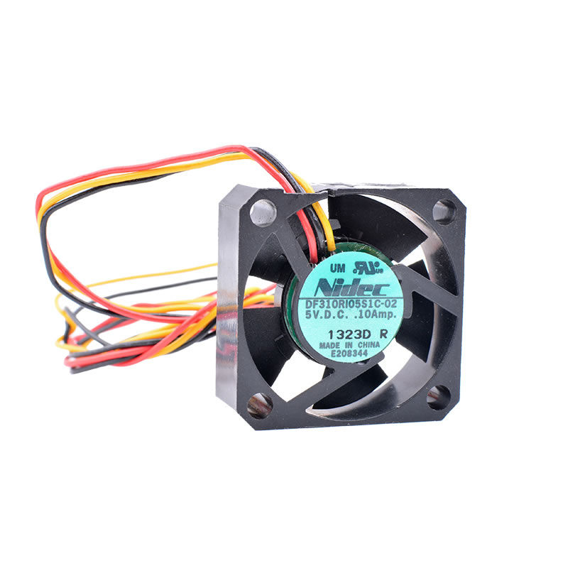 Nidec DF310R105S1C-02 DC5V 0.10A winds hydraulic bearing cooling fan