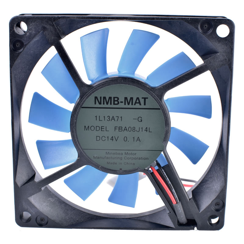 NMB FBA08J14L DC14V 0.10A Ultra Quiet Waterproof Case Refrigerator fan
