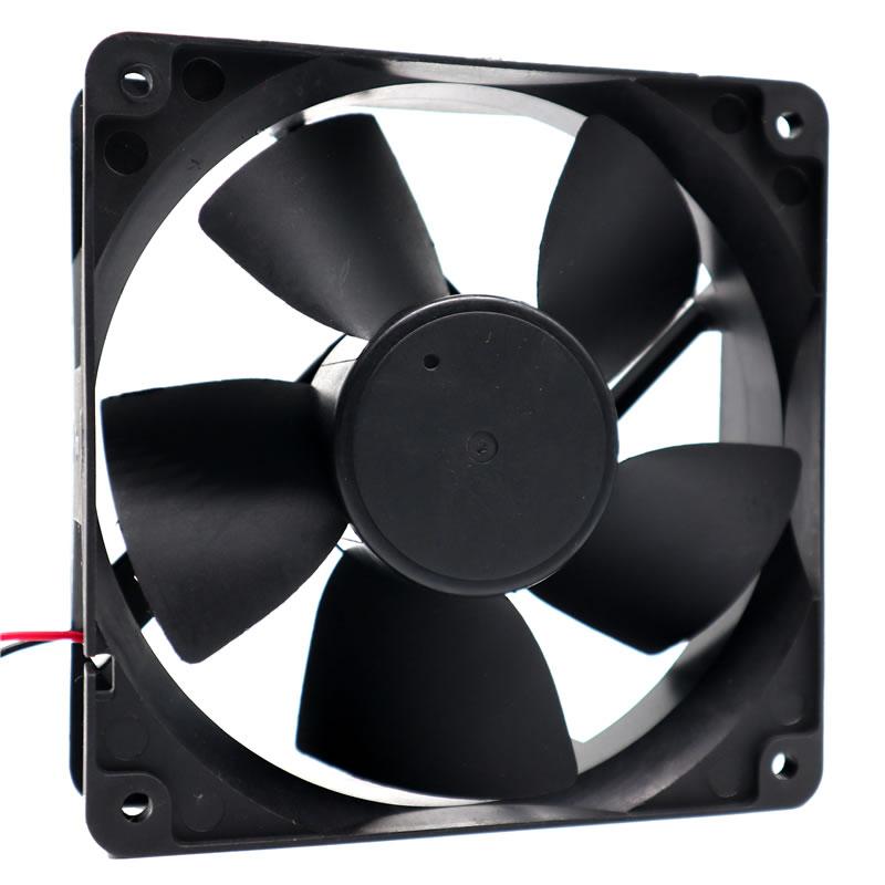 Y.S.TECH FD241238EB DC24V 0.52A Double Ball Bearing Cooling Fan