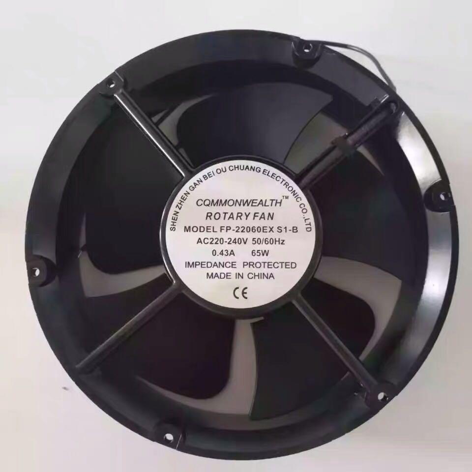 FP-20060EXS1-B AC 110V/220V/380V 65W cooling fan