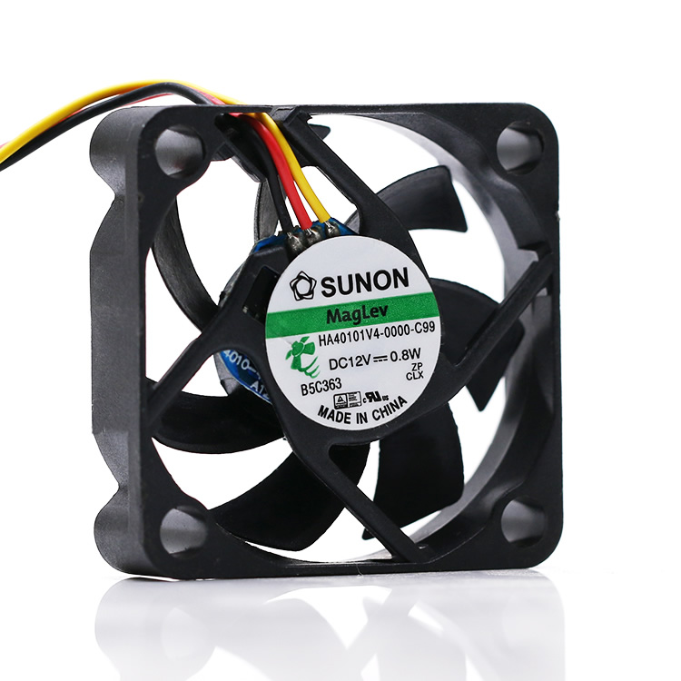 SUNON HA40101V4-0000-C99 DC12V 0.8W 4CM 3pin cooling fan