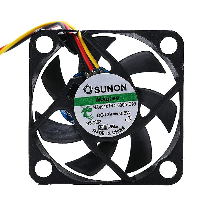 SUNON HA40101V4-0000-C99 DC12V 0.8W 4CM 3pin cooling fan