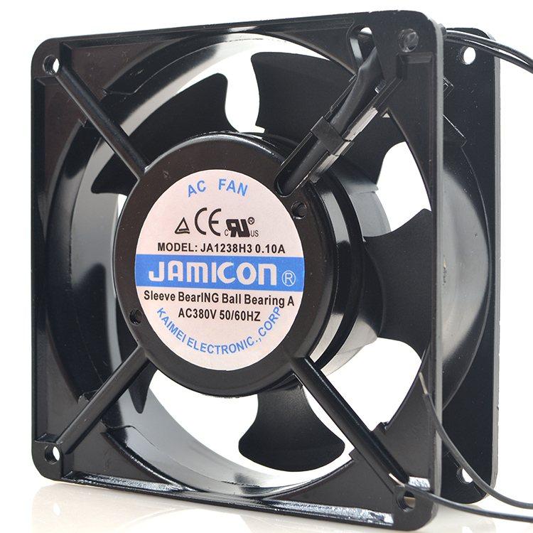 JAMICN JA1238H1/2/3 110v/220v/380V 0.1A 12CM cooling fan