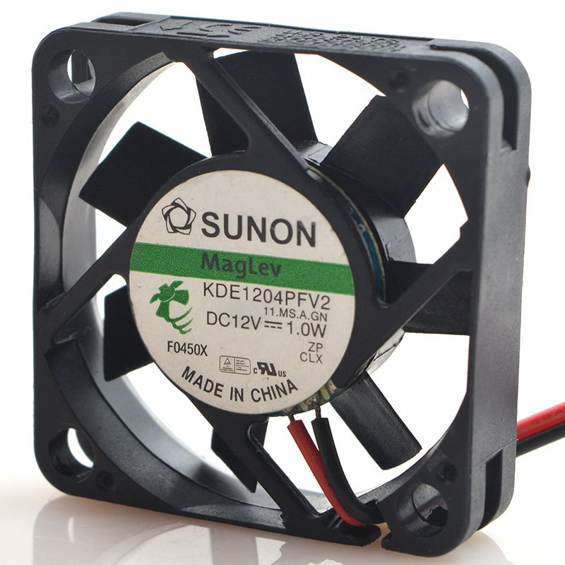 Sunon KDE1204PFV2 DC12V 0.6W 3-Wires silent magnetic suspension fan