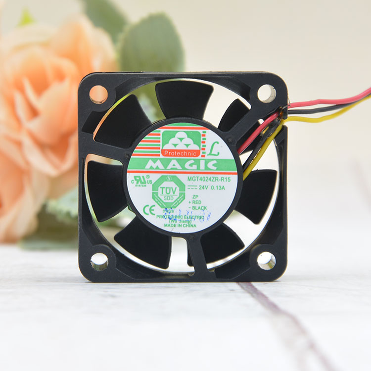 Magic MGT4024ZR-R15 DC24V 0.13A Inverter cooling Fan