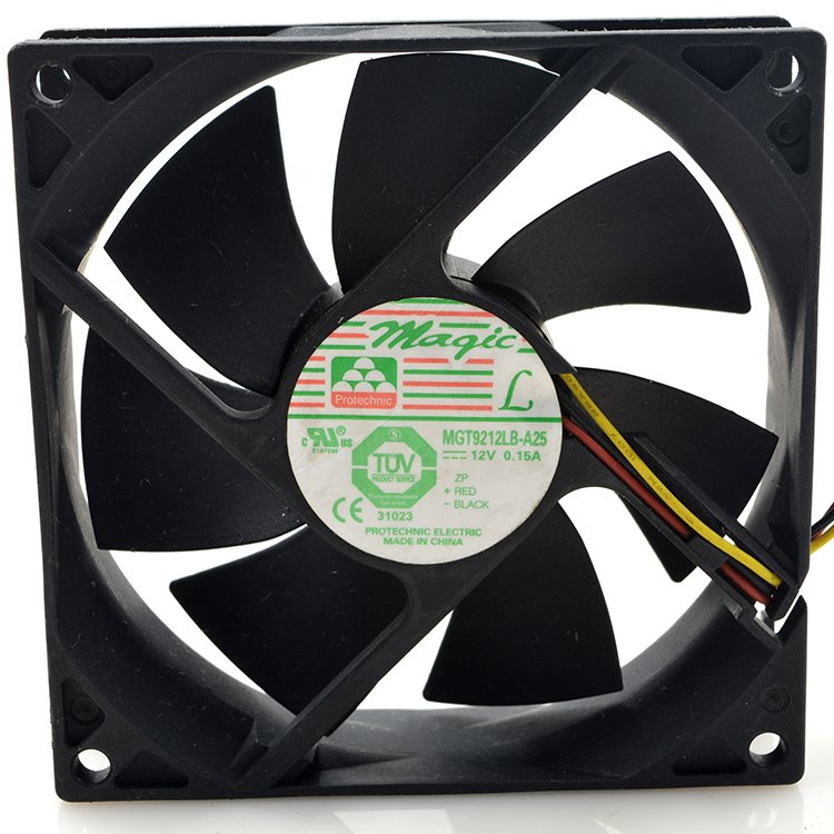 Magic MGT9212LB-A25 DC12V 0.15A cooling fan