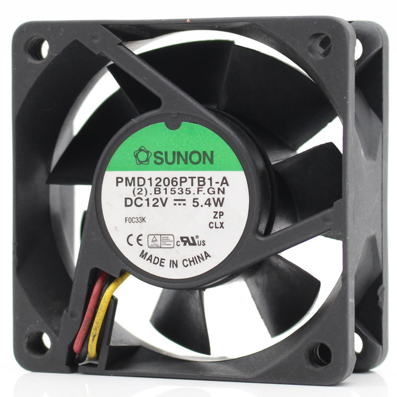 SUNON PMD1206PTB1-A DC12V 3.9W  6cm high quality cooling fan