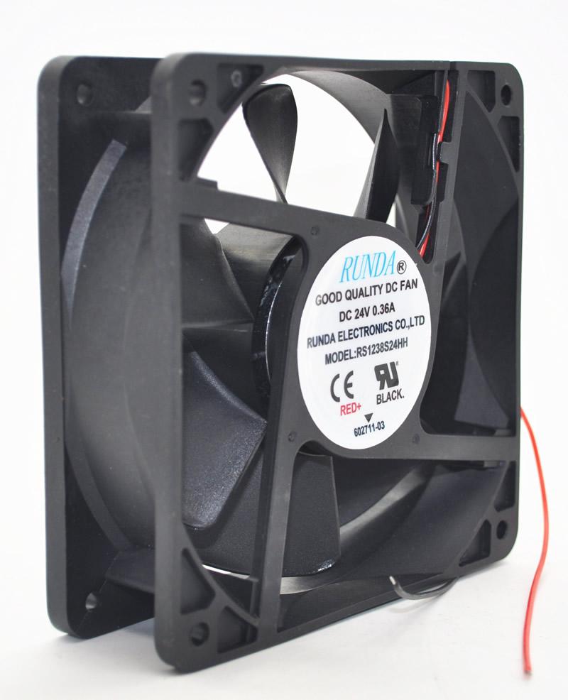 RUNDA RS1238S24HH 24V 0.36A 12CM cooling fan