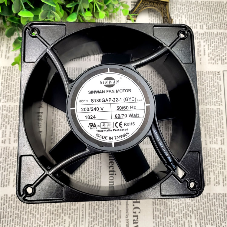 SINWAN S180GAP-22-1 AC200/240V 60W cooling fan