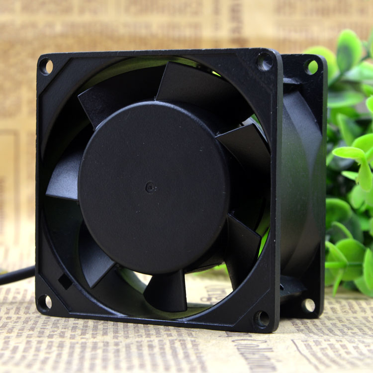 SAN JU SJ8038HA2 AC110V 16W 0.1A 2-Wires 50/60HZ Cooling Fan
