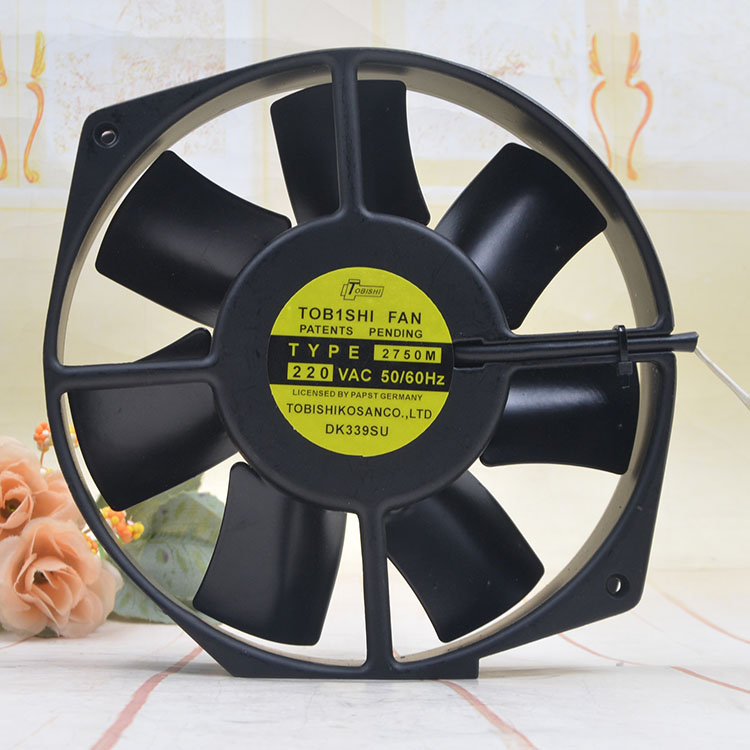 TOBISHI FAN TYPE2750M 220VAC 50/60Hz cooling fan