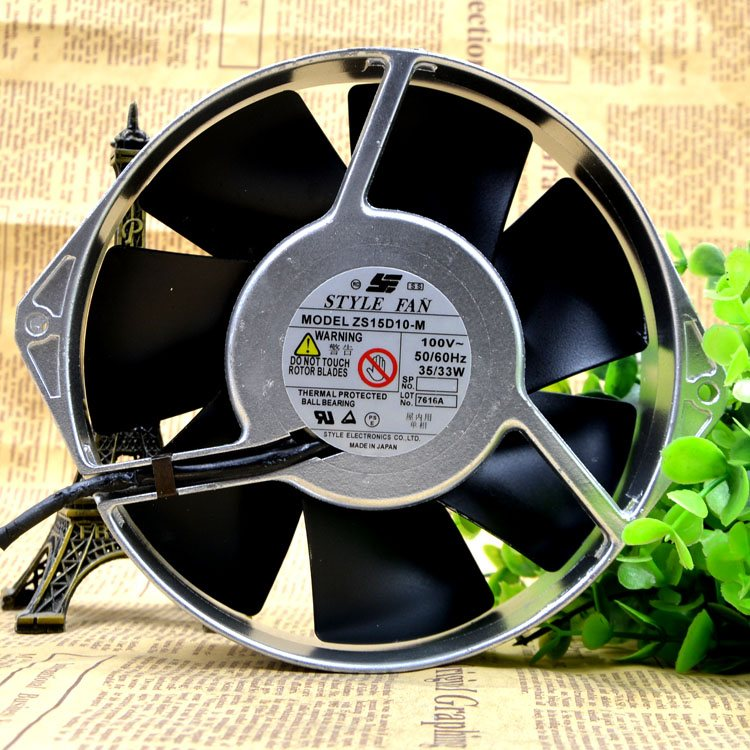 STYLE FAN ZS15D10-M AC 100V 35W metal cooling fan