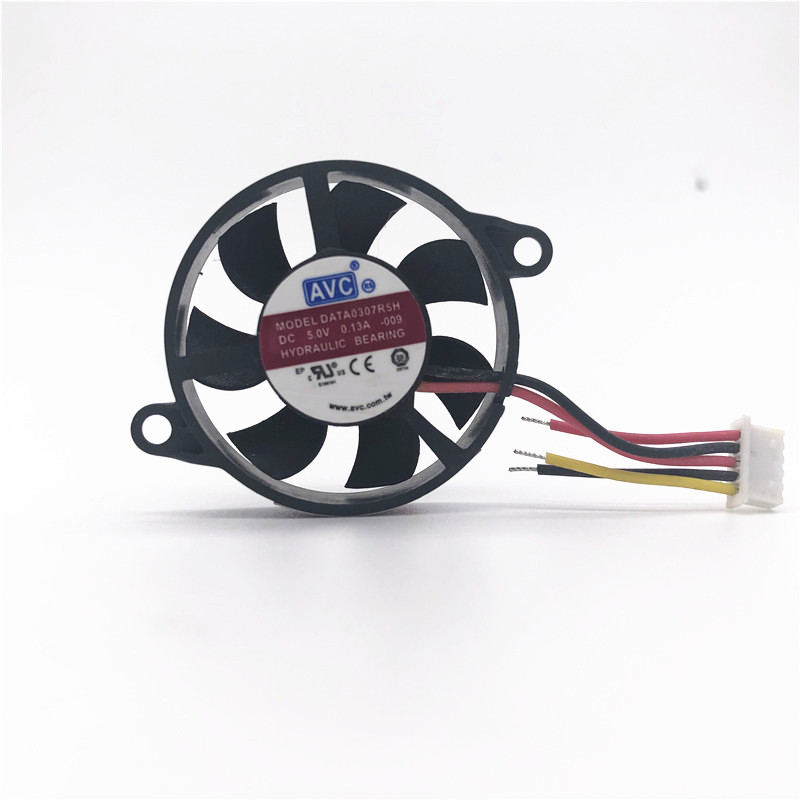 AVC DATA0307R5H-002 30MM DC5V 0.65W  Silent cooling fan