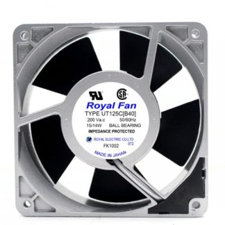 Royal Fan UT125C[40] AC200V 15/14W Server Cooling Fan