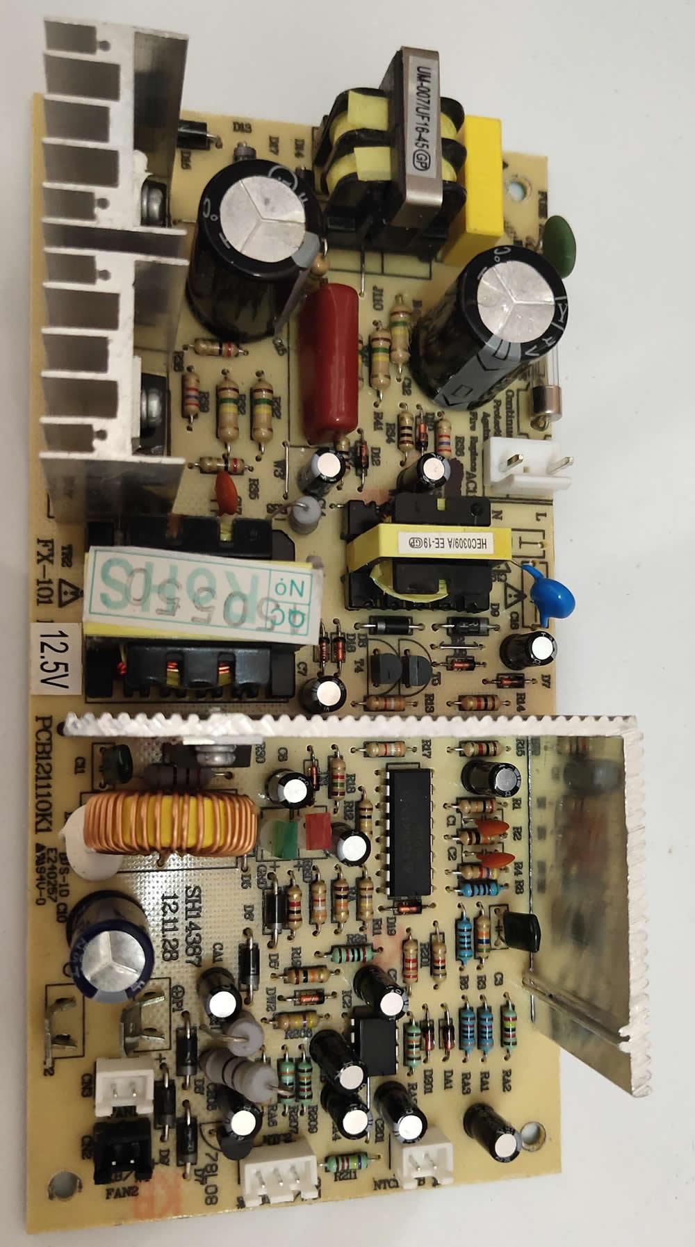 FX-101 110V 12.5V 10.5V Wine cooler refrigerator freezer accessories power control board