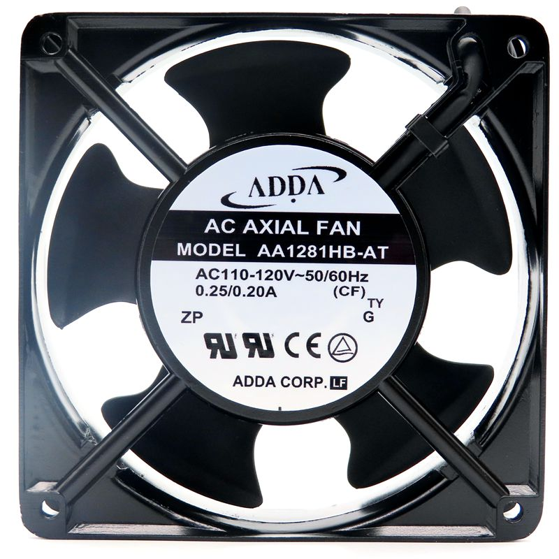 ADDA AA1281HB-AT AW 12CM 110V elevator cooling fan