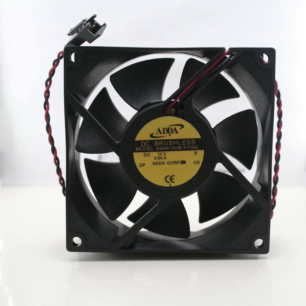ADDA AD0912UB-Y71GL DC12V 0.64A 2-Lines cooling fan