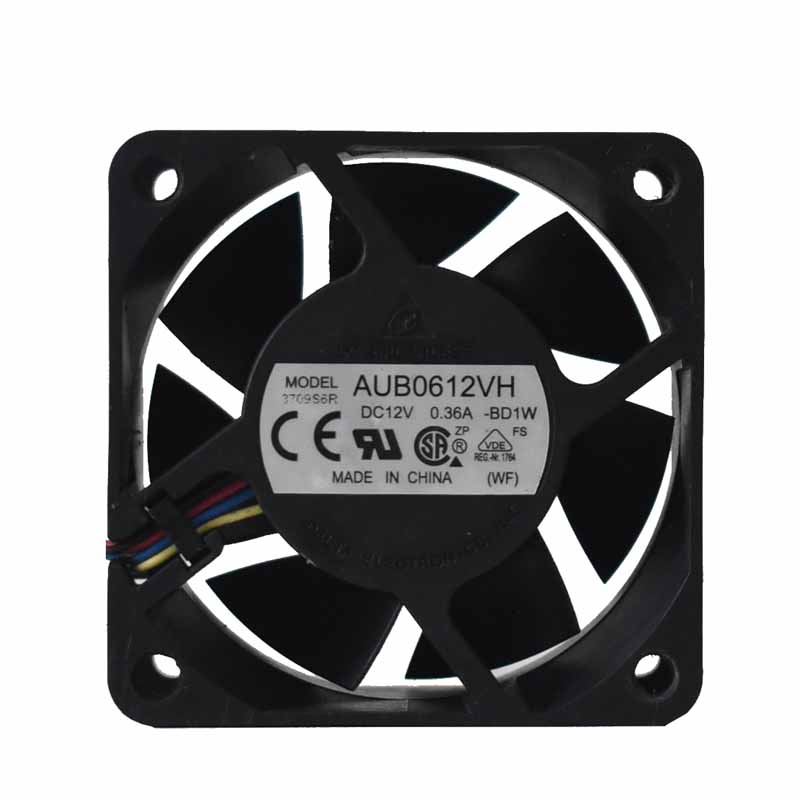 Delta AUB0612VH DC12V 0.36A PWM 4-wire inverter Cooling fan