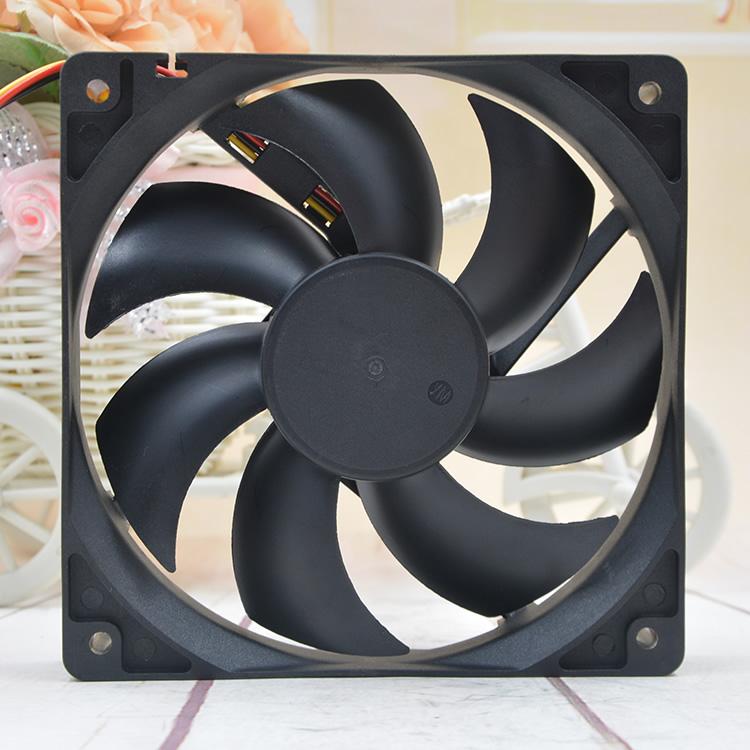 Y.S.TECH FD481225LB DC48V 0.07A 3.36W 6400RPM 3-Wires Mute cooling fan