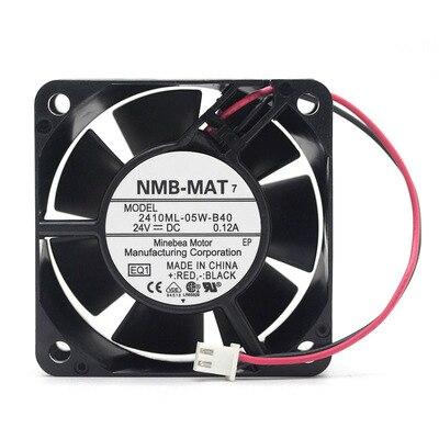 NMB 2410ML-05W-B40 DC24V 0.12A Inverter cooling fan