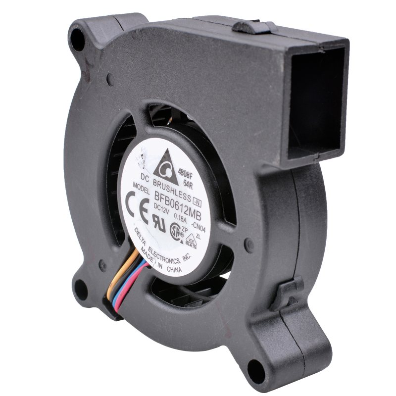 Delta BFB0612MB DC12V 0.18A Centrifugal turbo blower double ball projector cooling fan