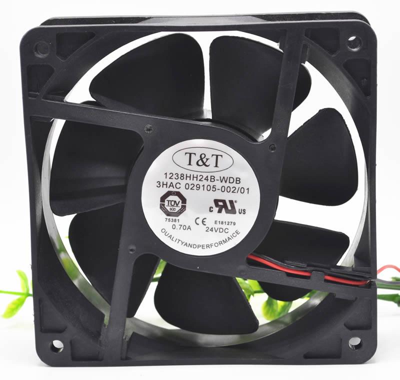 T&T 1238HH24B-WDB 3HAC 029105-002 ABB Robot controller cooling fan
