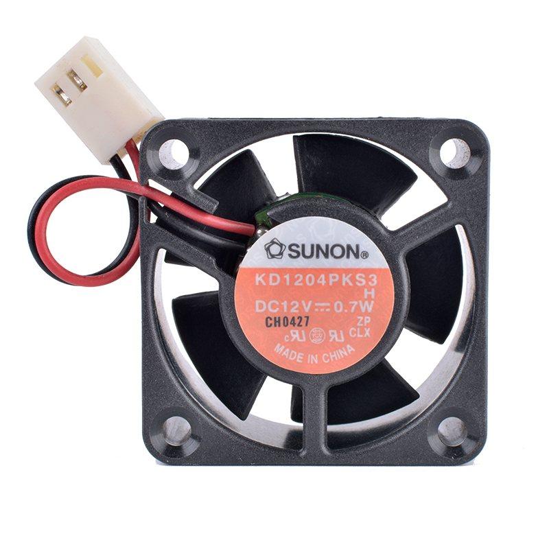 SUNON KD1204PKS3 DC12V 0.7W  2-wire DIY quiet cooling fan