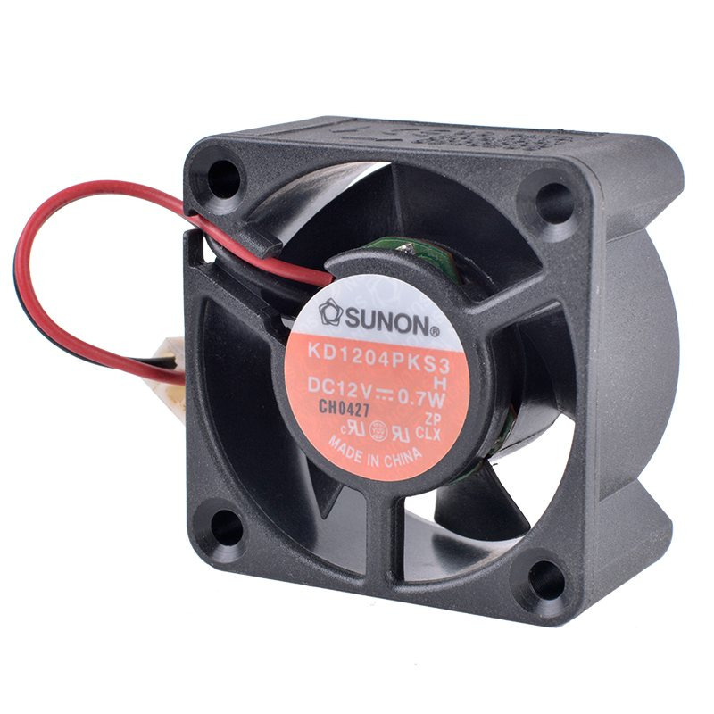SUNON KD1204PKS3 DC12V 0.7W  2-wire DIY quiet cooling fan