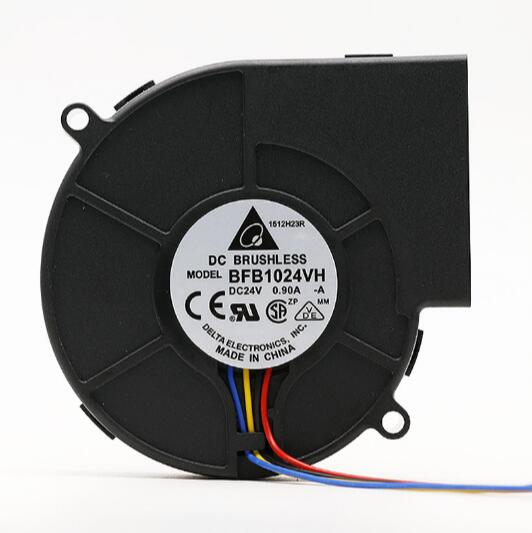 DELTA BFB1024VH 24V 0.90A 4-wire PWM speed turbine cooling fan