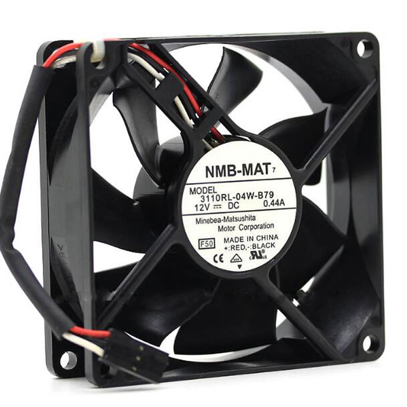 NMB 3110RL-04W-B79 DC12V 0.44A radiator cooling fan
