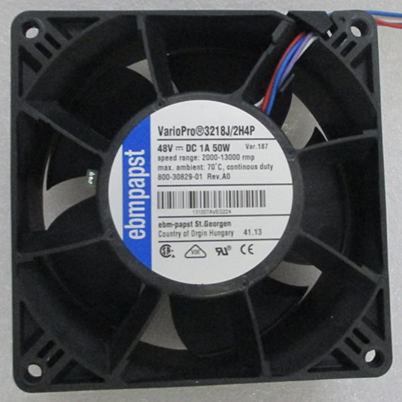 ebmpapst 3218J/2H4P 3218 J/2H4P DC48V 50W 4-wires cooling fan