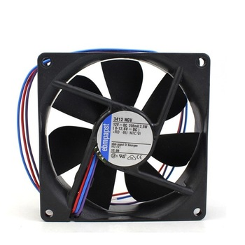 Ebmpapst 3412NGV 3412 NGV DC12V Server Square Cooling Fan