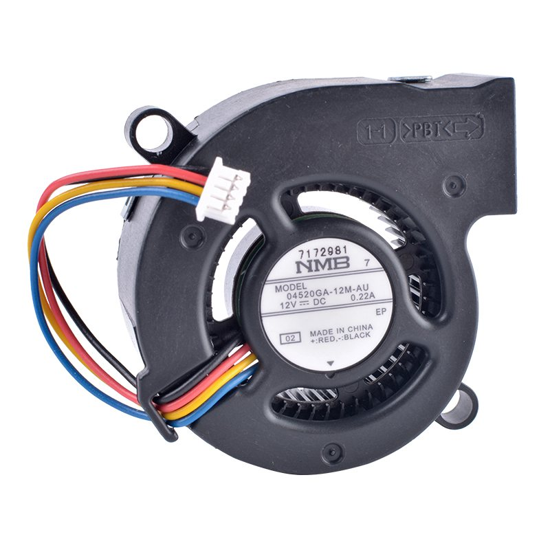 NMB 04520GA-12M-AU 12V 0.22A 4-wire centrifugal turbine blower cooling fan