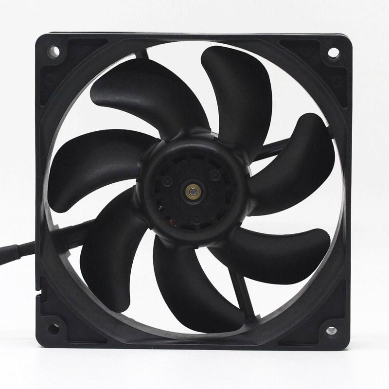 Sanyo 9S1212P4F03 DC12V 0.19A 4-pin PWM temperature controlled mute fan