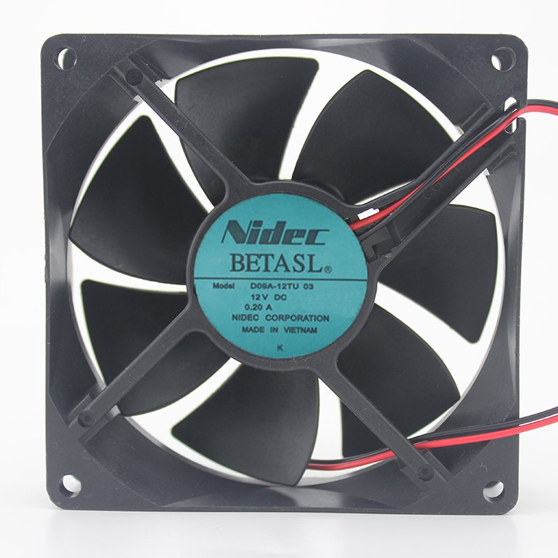 Nidec D09A-12TU 12V 0.2A inverter industrial cooling fan