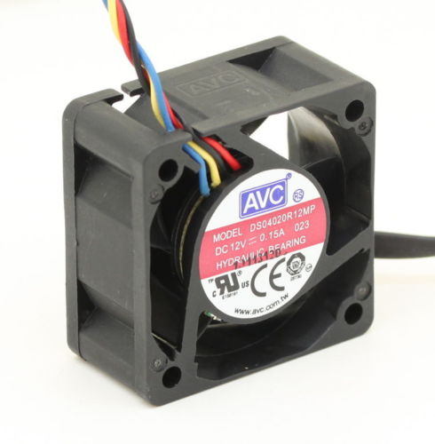 AVC DS04020R12MP DC12V 0.15A 4-pin PWM cooling fan