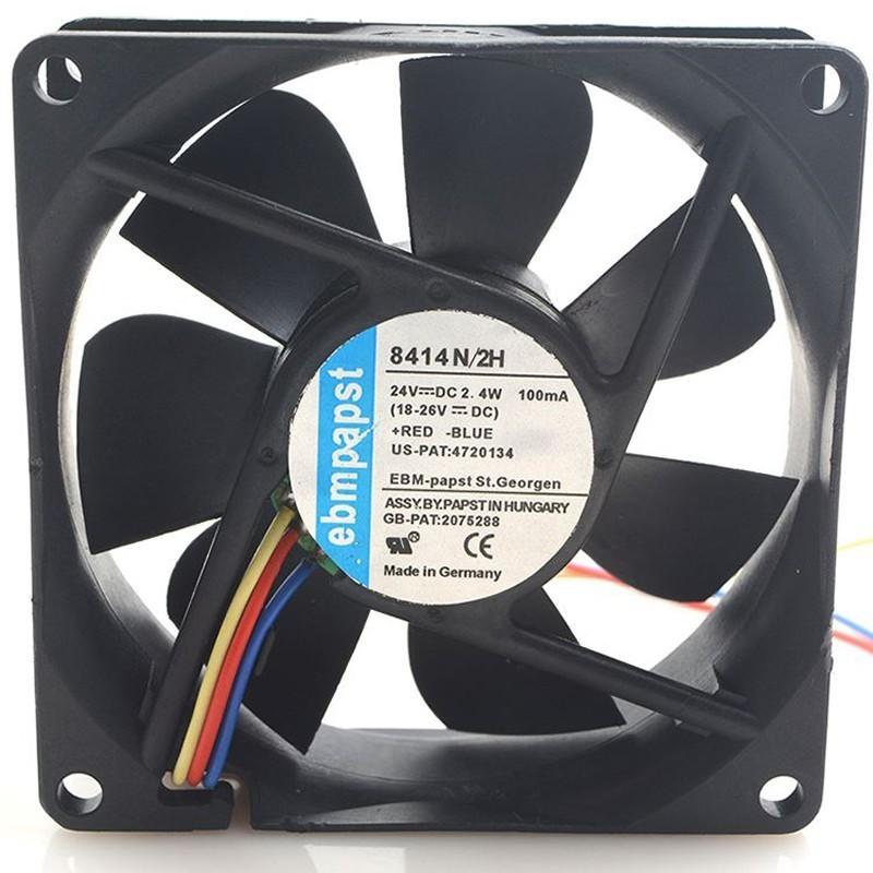 ebmpapst 8414N/2H DC 24V 2.4W 0.1A Cooling Fan