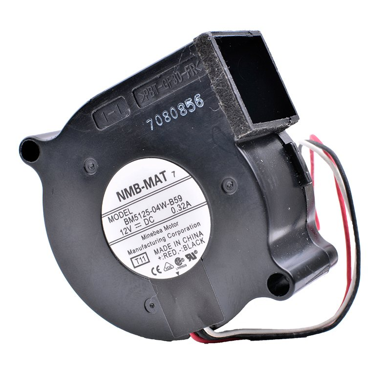 NMB BM5125-04W-B59 12V 0.32A Centrifugal Turbo Blower Projector Fan