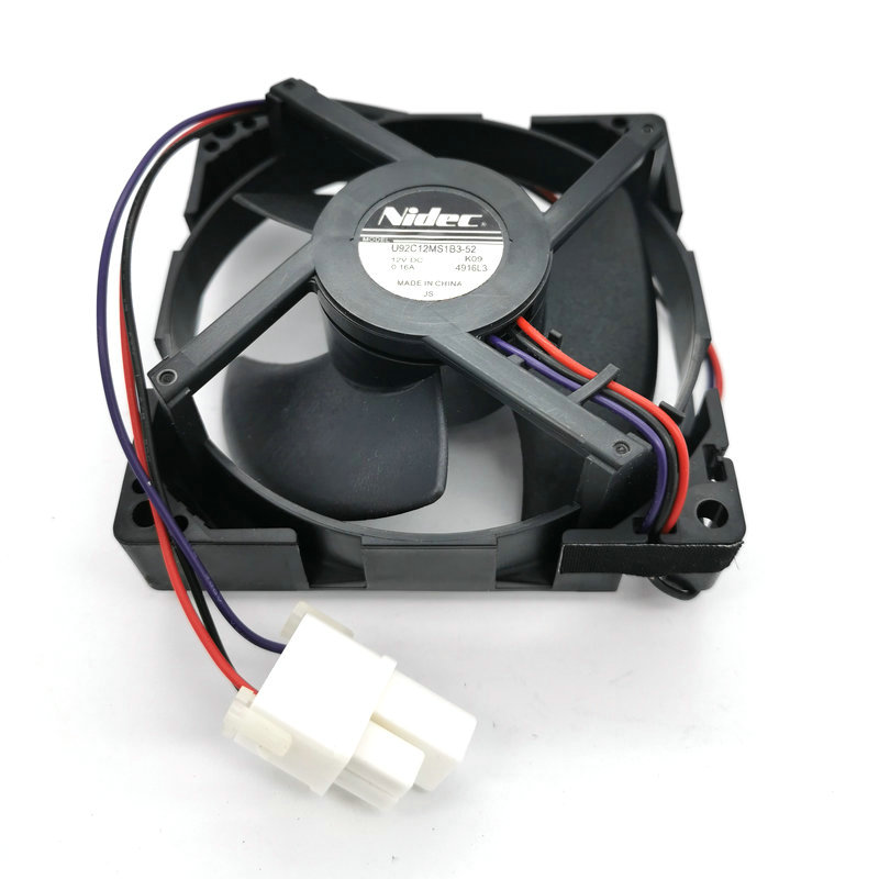 Nidec U92C12MS1B3-52 DC12V 0.16A Refrigerated cooling fan