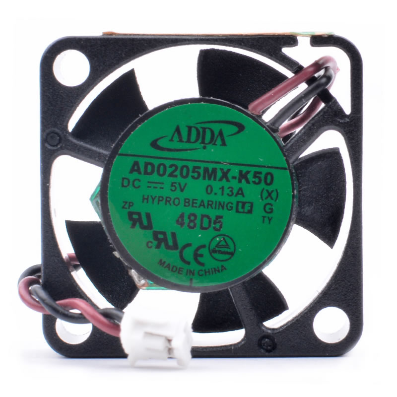 ADDA AD0205MX-K50 DC5V 0.13A small ultra-thin micro cooling fan