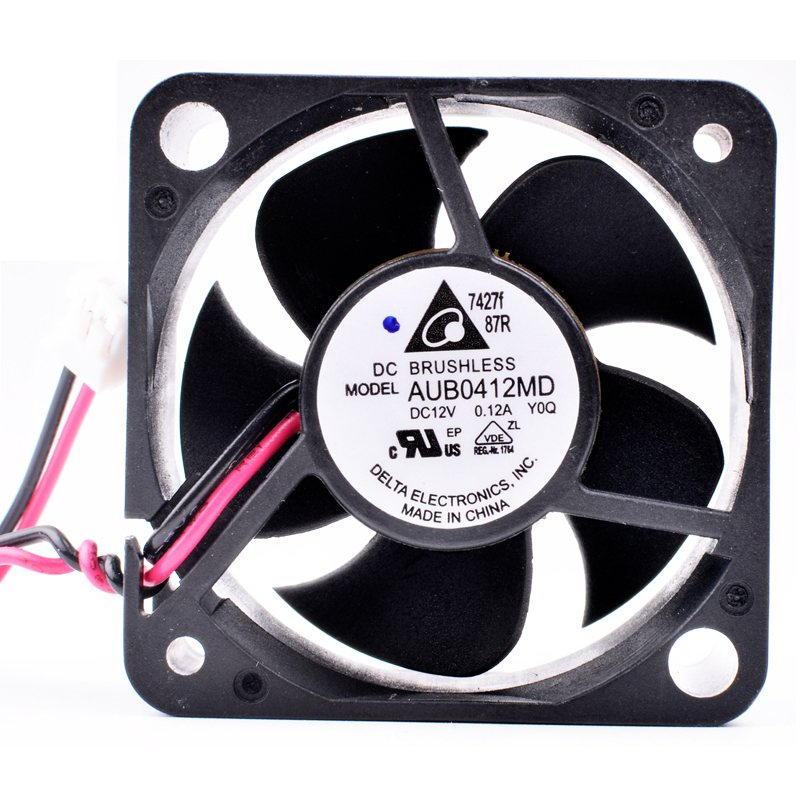 Delta AUB0412MD DC12V 0.12A Computer chassis CPU power cooling fan
