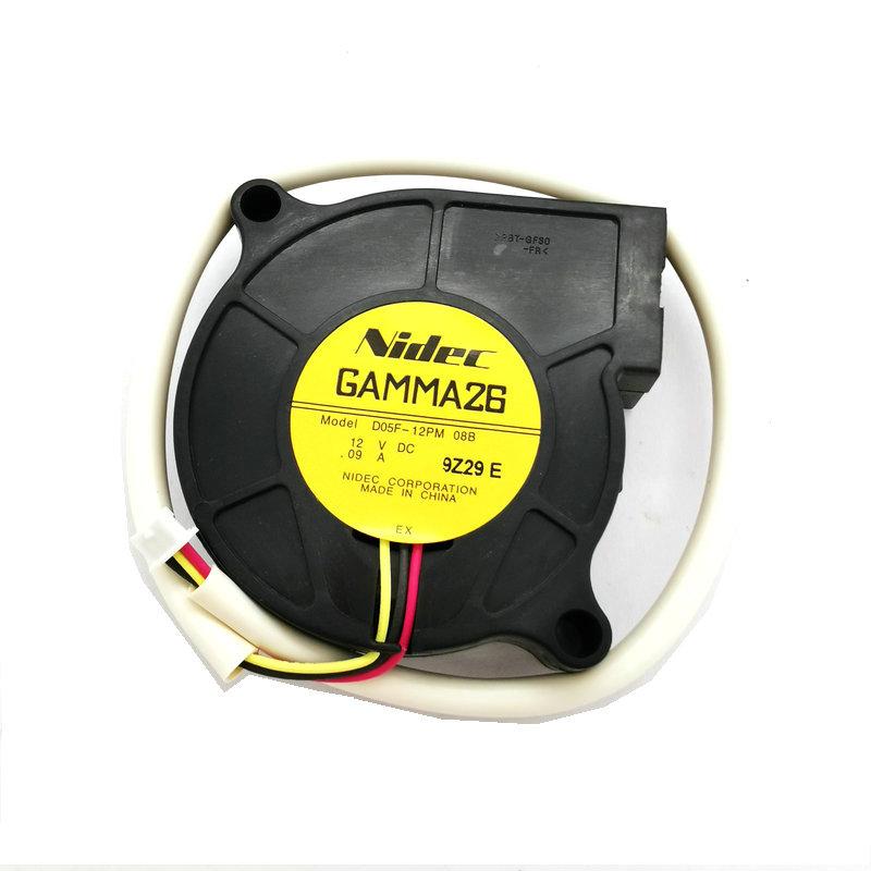 Nidec D05F-12PM 08B 12V 0.9A Quiet Centrifugal Turbine Blower Projector Fan
