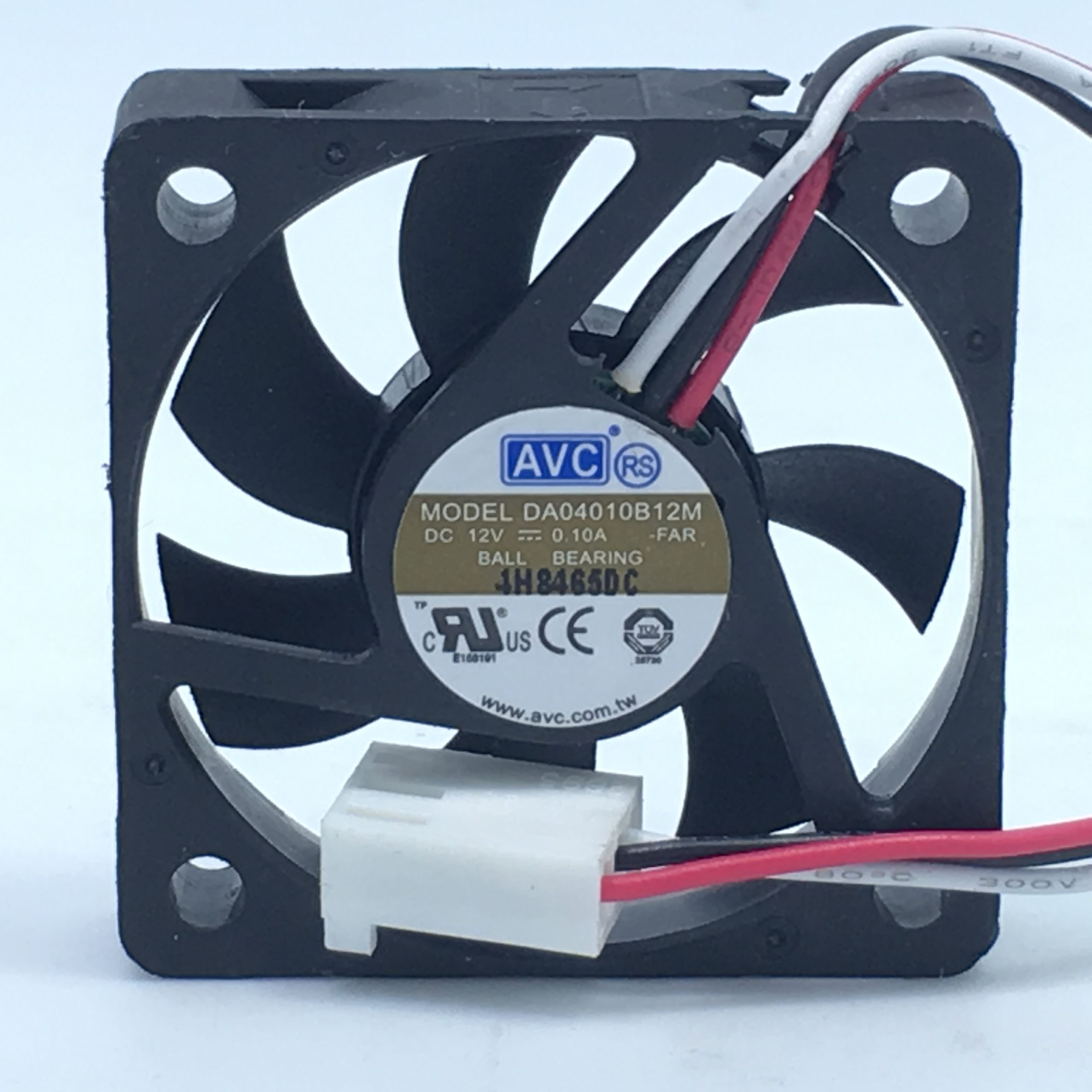 AVC DA04010B12M DC12V 0.1A 4cm 3-wires Server Cooling Fan